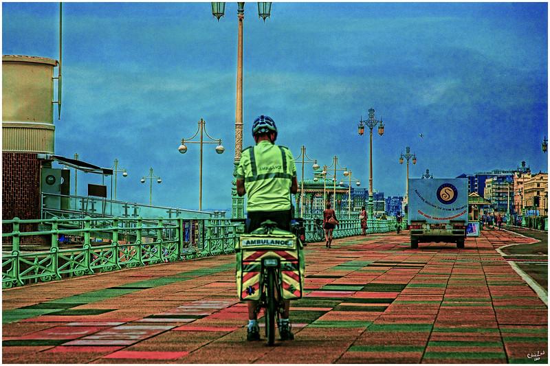 Seaside Bicycle Ambulance