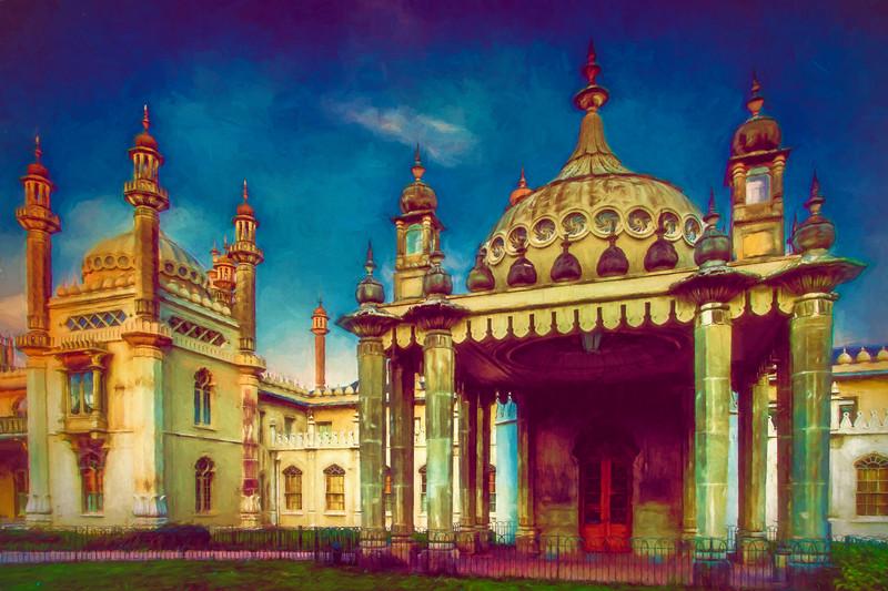 The Royal Pavilion West Face