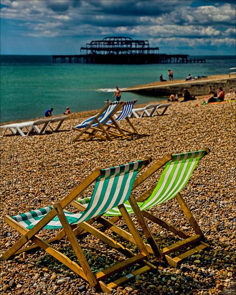 Pebbles and Deck Chairs
