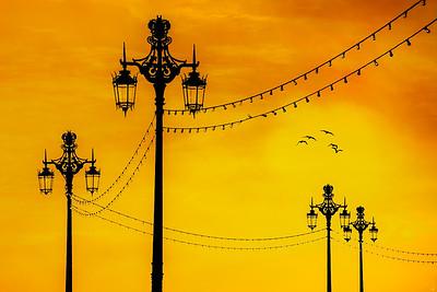 Brighton Seafront Sunset