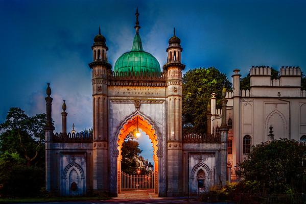 Indian Gate At Dawn