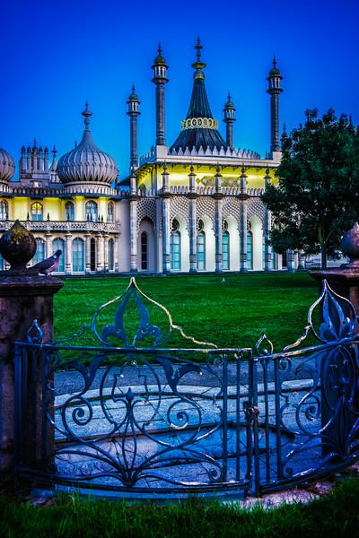 The Royal Pavilion At Dawn