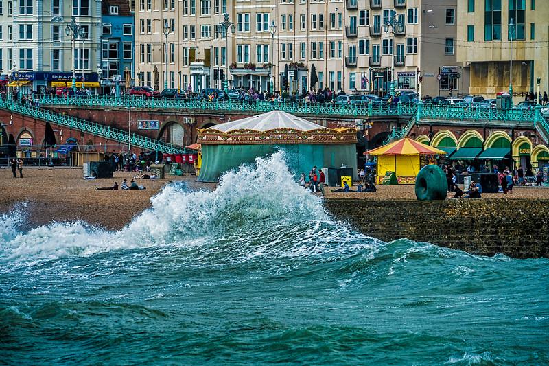 A Big Splash In Brightonn