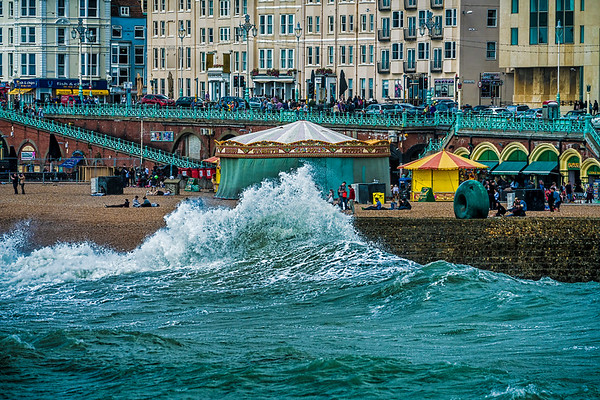 A Big Splash In Brightonn