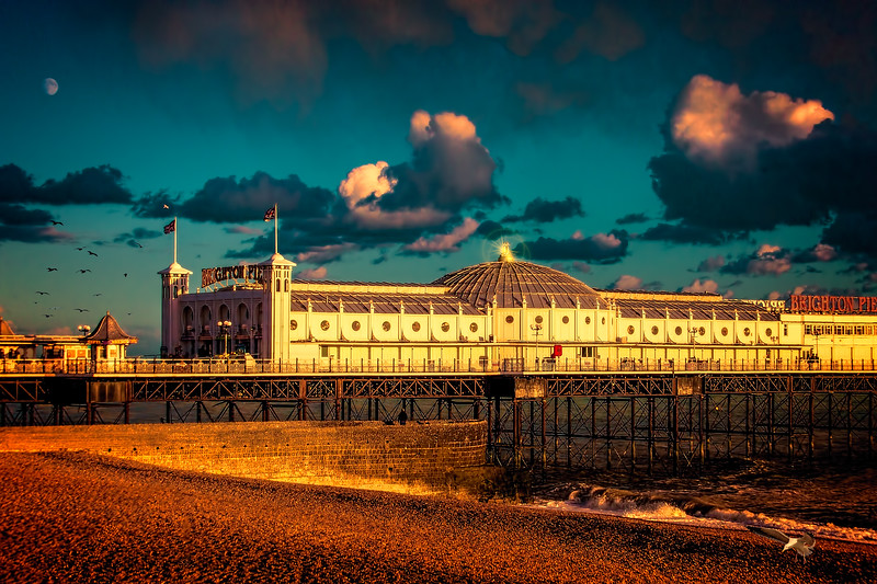 Brighton Palace Pier Sunset