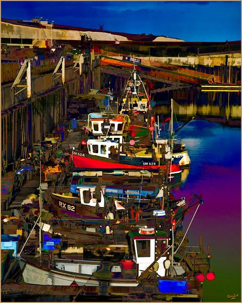 Fishing Boats at Brighton Marina