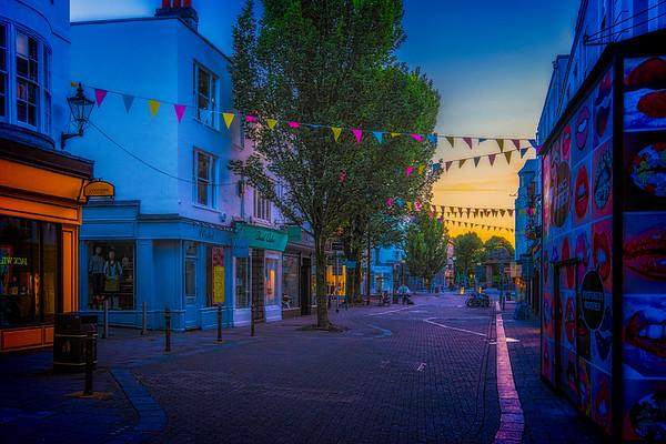 Dawn On East Street