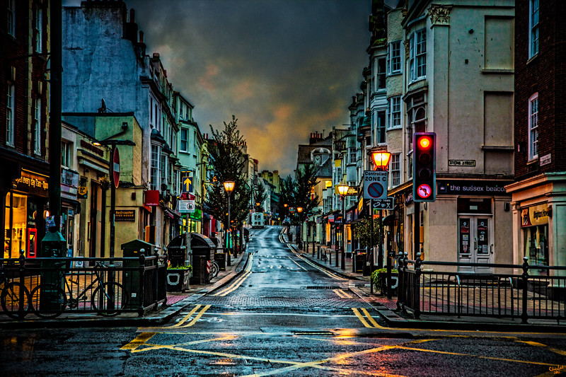 Rainy Morning in Kemp Town