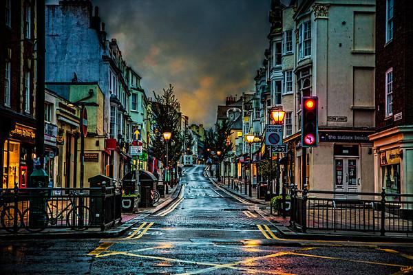 Rainy Morning in Kemp Town