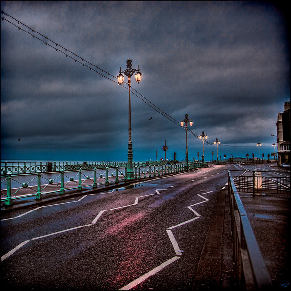 Wet Morning on the Seafront