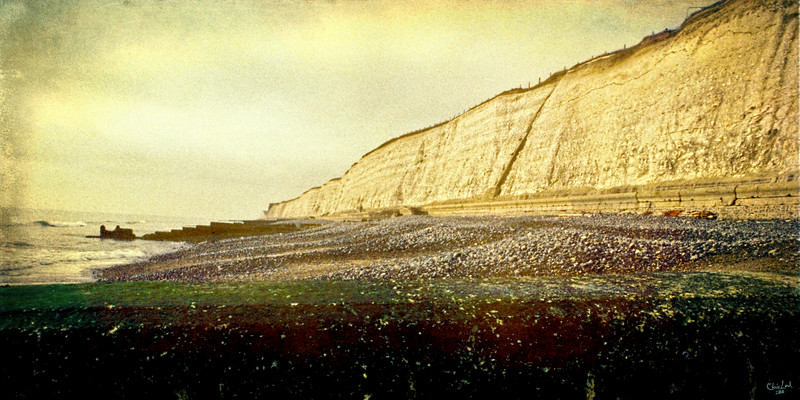 "The Undercliff Walk, An ""oldie but goodie"" from my 35 mm slide collection."