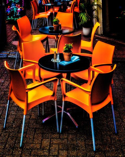 Dining Al Fresco In Brighton