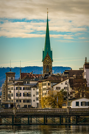 Out And About In The City Of Zürich