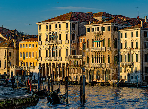 The Waterways Of Venice