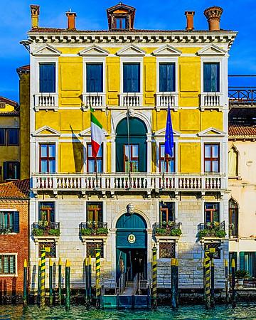The Waterways Of Venice