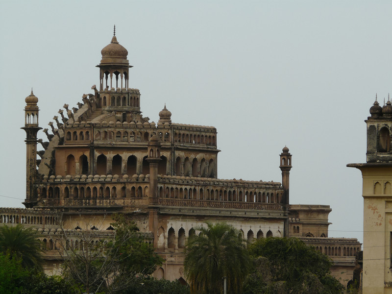 Fancy Architecture of the Bara Imambara, Lucknow