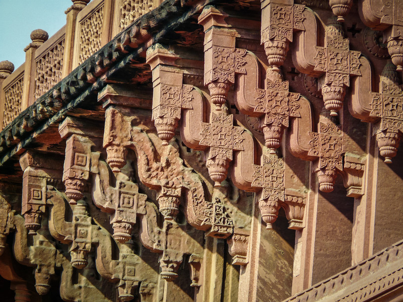 Fancy Carvings, Agra Fort