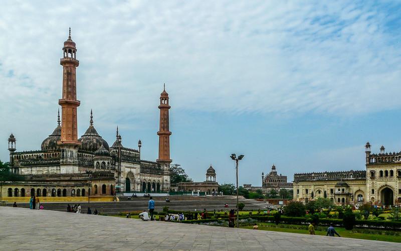 Mosque at Bara Imambara, Lucknow