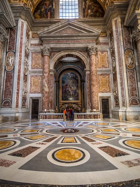 Side Chapel, St. Peter's Basilica, Vatican City