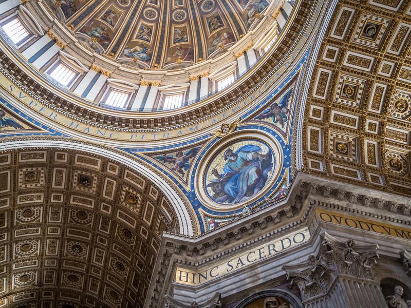 St. Mark Below the Cupola, St. Peter's Basilica, Vatican City