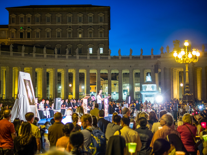 Worship on St. Peter's Square, Vatican City