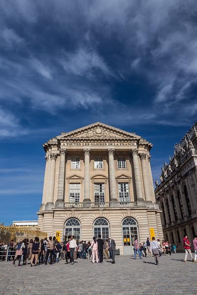 A Toutes les Gloires de la France, Versailles