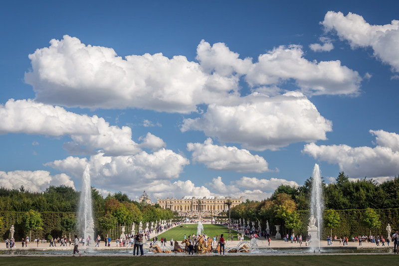 Summer Skies over Versailles, France