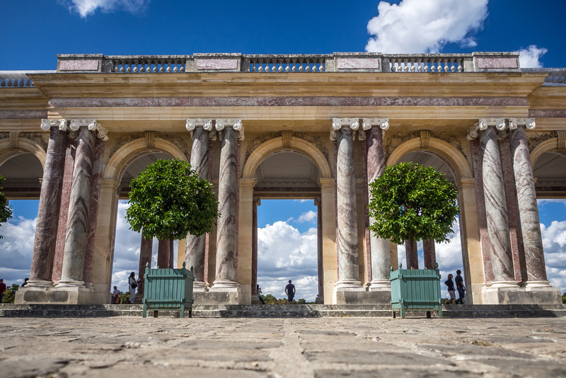 Arc du Trianon, Versailles, France