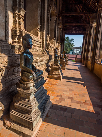 Buddhas in the Shade, Haw Pha Kaew, Vientiane