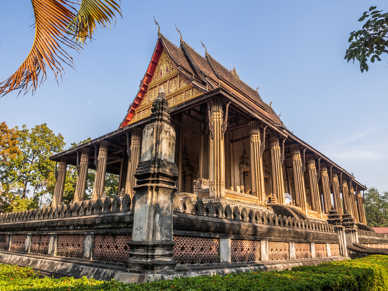 The Royal Temple of Haw Pha Kaew, Vientiane, Laos