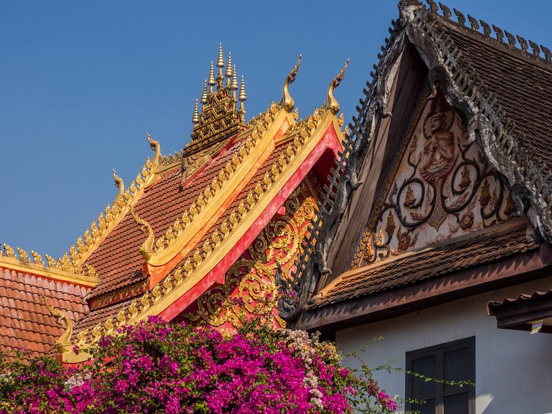 Laotian Rooftops, Wat Si Saket, Vientiane