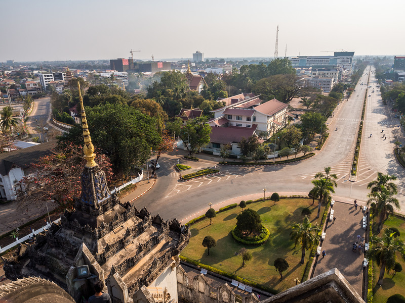 Looking Out over Vientiane