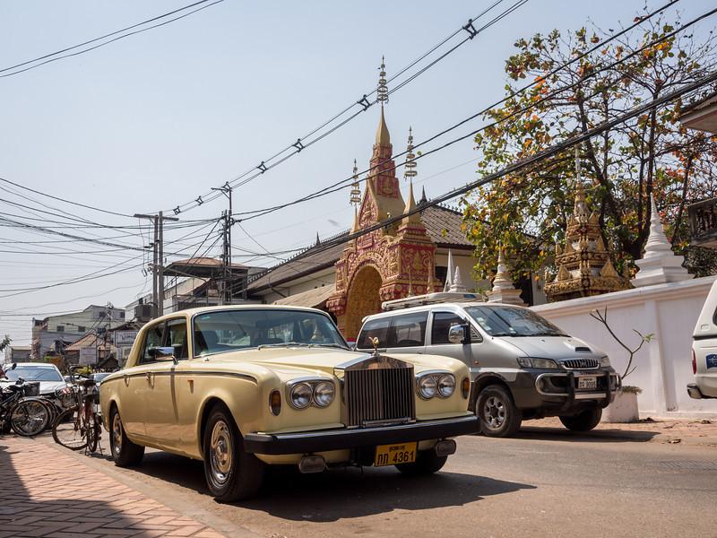 Rolls-Royce in Vientiane