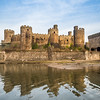 Conwy Castle Reflected