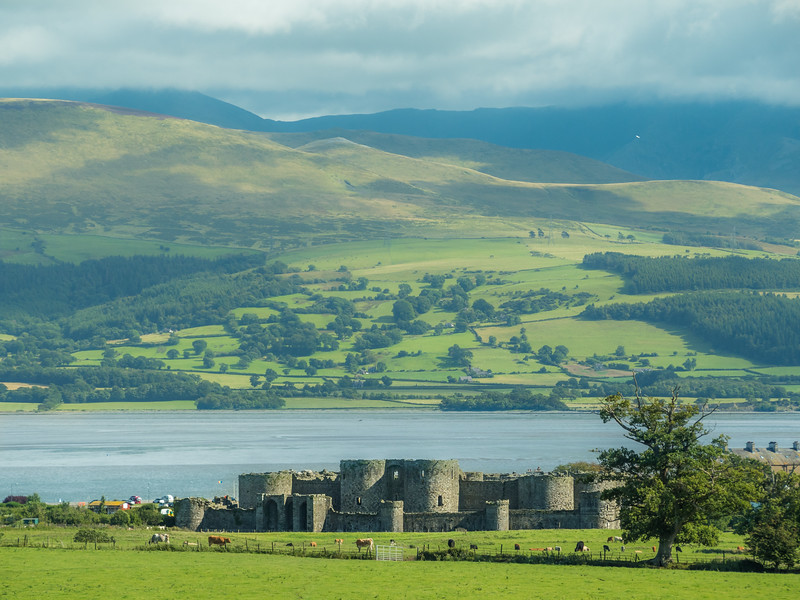 Beaumaris Castle and the Sea, Wales