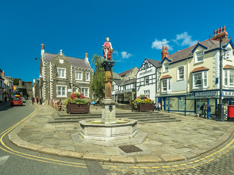 Lancaster Square, Conwy, Wales