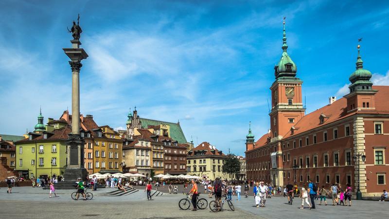 Castle Square, Warsaw