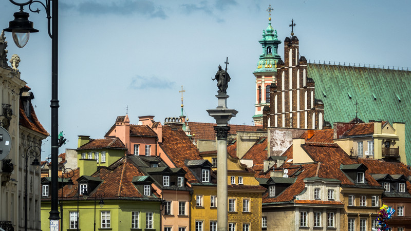 Rooftops, Warsaw