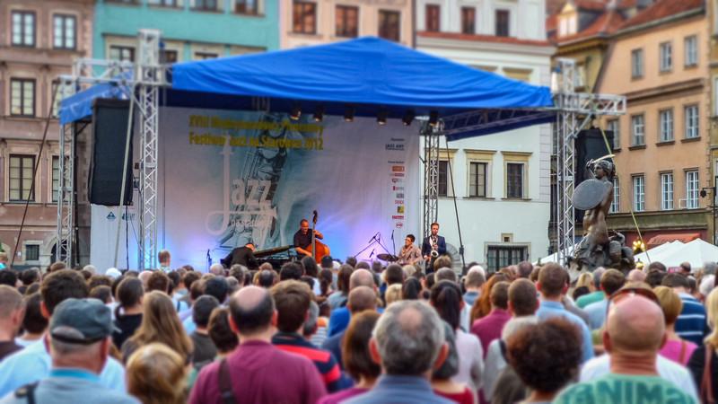 Jazz Concert on Market Square, Warsaw