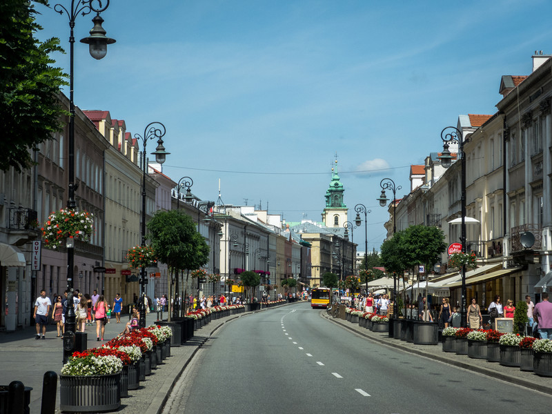 Sunny Day in Old Town, Warsaw