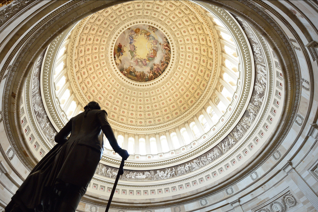 Dome of the U.S. Capitol Building