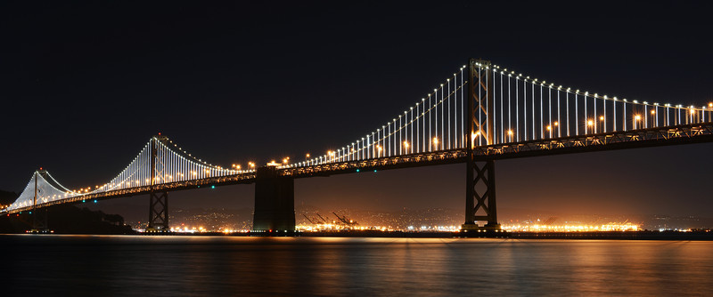 The Bay Bridge, January 2014