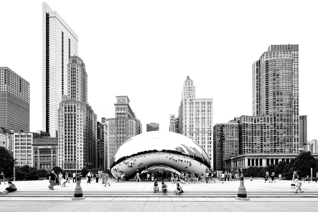 "Cloud Gate a.k.a. ""The Bean"""