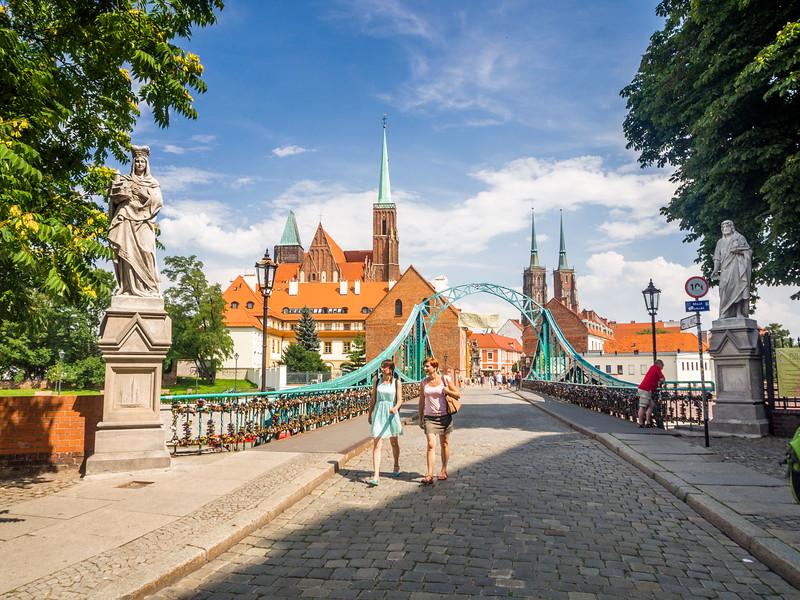 Crossing to the Island, Wrocław, Poland