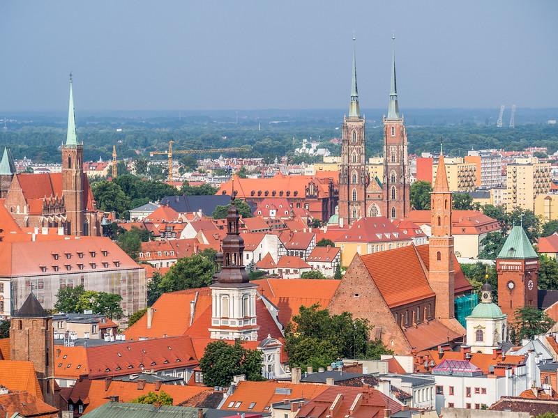 Church Spires, Wrocław, Poland