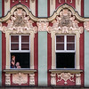 Phoning from the Window, Wrocław, Poland