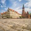 Cobbled Streets of Rynek Square, Wrocław, Poland