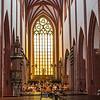 Musicians inside the St Mary Magdalene Church, Wrocław