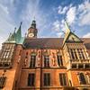 Evening Sky over the Town Hall, Wrocław, Poland