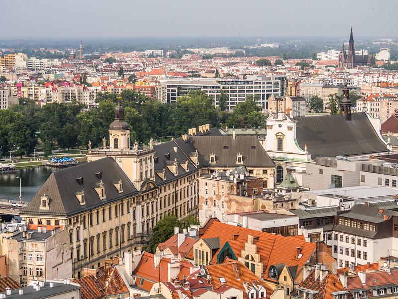 Wrocław University on the Oder